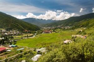 Thimphu by Bradley Aaron