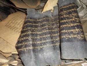 Tibetan manuscripts